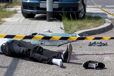 pedestrian car accident in Detroit Michigan