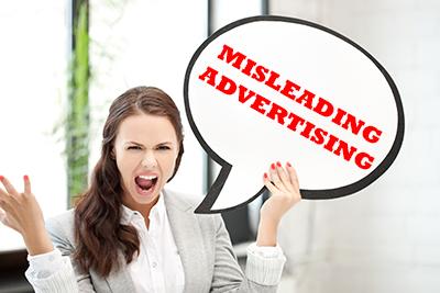 misleading advertising injury lawyers